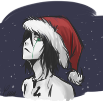 Merry Christmas for Ulquiorra fangirls by Shinda-Yume