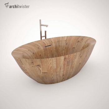 Alegna Laguna Pearl Bath (3d Model) by architwister