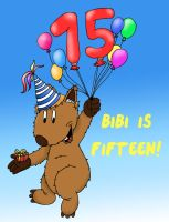 I'm 15 now!! :D by MagicalMerlinGirl