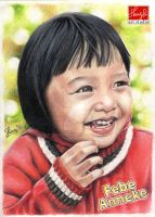 Comission Work: Manual Portrait Drawing FEBE by shierly85