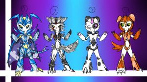 Transformers Adoption Chibi -#04 [ closed ] by WolfCreeker