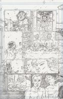 Pinky Thumb Page 5 Pencils by KurtBelcher1