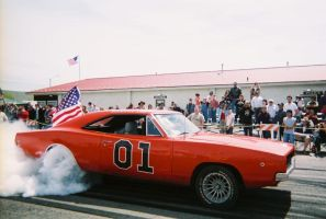 General Lee's Burn Out '07 by lucy31