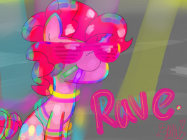 Pinkie Rave Time! by PonyPocky317