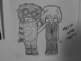 Mels and Matty :3 by neano-fury
