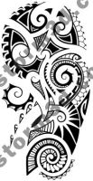 Maori tattoo shoulder design by MaoriTattoo