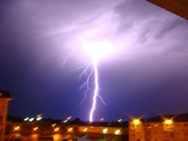 Lightning at Home by chris