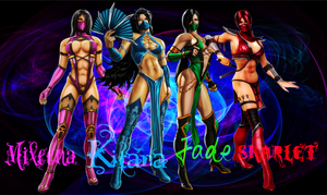 Ninja Hotties by IamSubZero