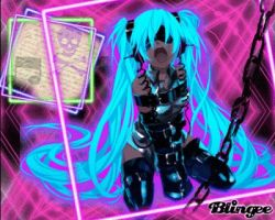 Miku Hatsune Bad Girl by celli90