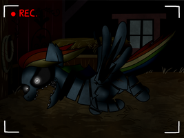 Five Nights at AJ's- Rainbow Dash is Comin'! by Bird-Spirit