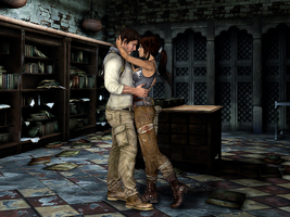 Nate and Lara - One for the Road by AlienFodder