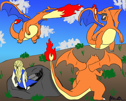 Mother of Charizards by thnksfrthwilliam