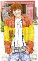Rupert Spain flag jacket by lillywmw