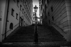 Stairs by LuisMoserART
