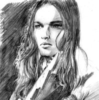 David Gilmour by bonzobonham