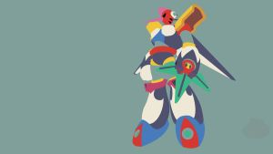 Tengu Man Minimalist Wallpaper by Oldhat104