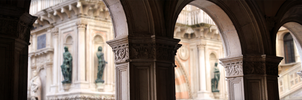 Arcades at the Doge's Palace by Bathlamos