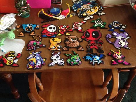 My small work perler gallery by Vilecannon13
