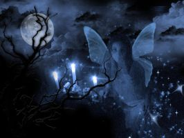 ...cold MagicK night by dxniela