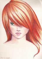 Red hair by Tryphe