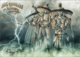 The Three Storms  Big Trouble in Little China by KaJu-MANIA