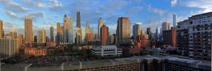chicago afternoon pano by noctrop-d