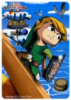 SSBT - Toon Link by PhazonRidley