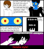 New way to use the Death Note by RandomNinjaKitty