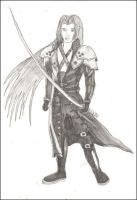 Sephiroth by redwolf18blue