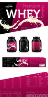 Sport Nutrition Premium Whey label by carl913