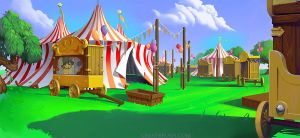 Circus environment by ekarnopp