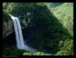 Caracol Waterfall II by cappo