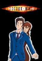 The Doctor and Donna by Epi-chan21