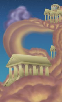 Temples of Olympus by 666-Lucemon-666