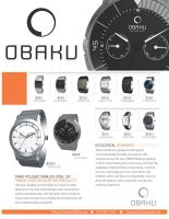 Obaku Watch Ad by ShindaTravis