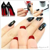 Louboutin Inspired Nail Tutorial by MissMMayhem