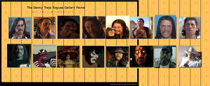 Trejo Rogues Gallery. by monstermaster13