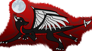 Blaid the Demon Dragon by DarkAngelAW1986