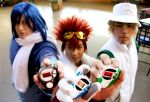 Digimon 02 photo shoot by Mlarad