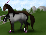 Love is in the air! *part one of three breeding* by kittyline13