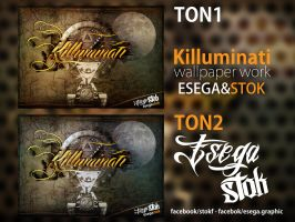 Killuminati Poster Work ft Stok by EsegaGraphic
