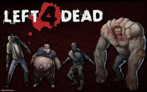 Left 4 Dead WP 1680x1050 by DharionDrahl