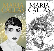 Maria Callas by Nortiker