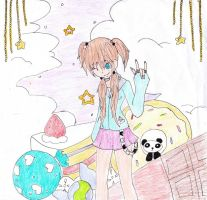 SS To:~devilfrog00~ SWEETS AND PANDA by cookielover120