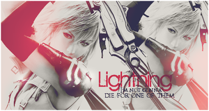 Lightning Banner BlackNPink by CaliforniaBabeWV