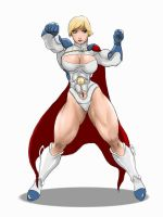 POWER girl by kyptova