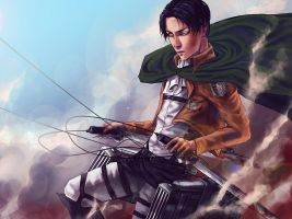 Attack on Titan: Rivaille by nercali
