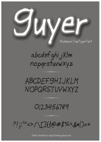 Guyer Normal Font by RPGuere