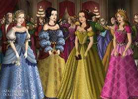 Tudor Disney Princesses 1 by jesusismybestie