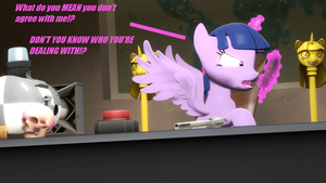 Disagreeing with Royalty by FezWearingDoctor